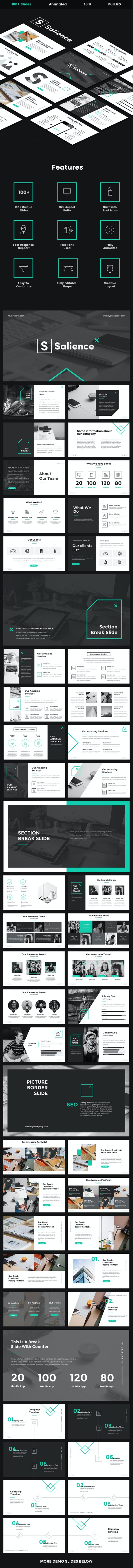 Salience - Creative Powerpoint Template - Creative PowerPoint Templates