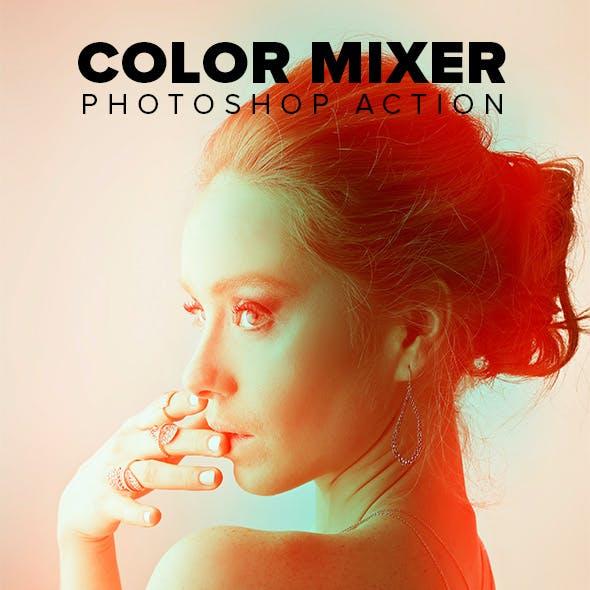 Color Mixer Photoshop Action