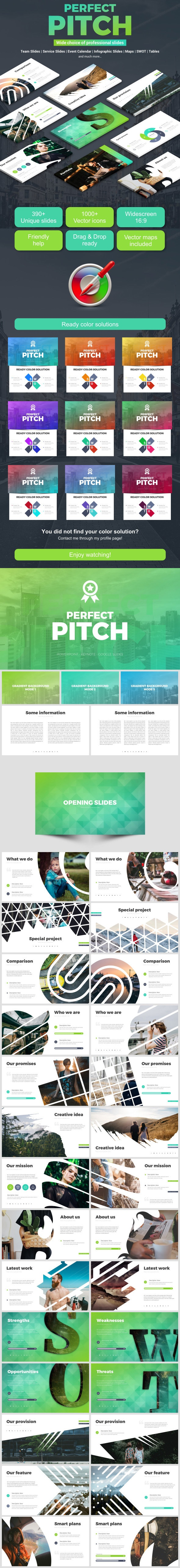 Perfect Pitch Deck - Business Keynote Templates