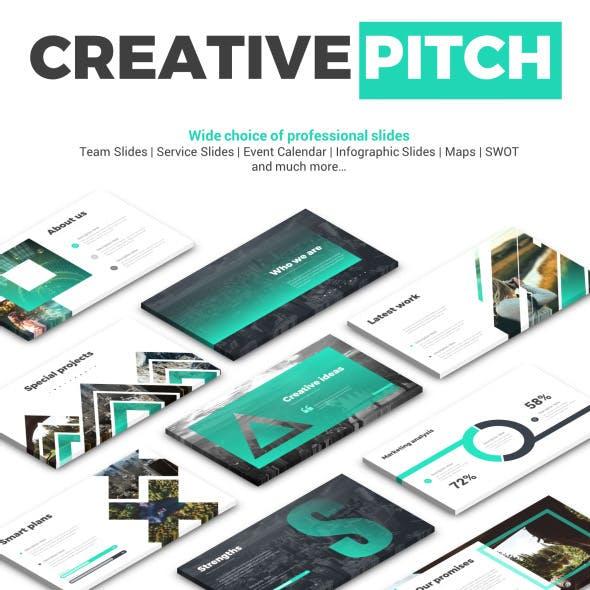 Creative Pitch Deck