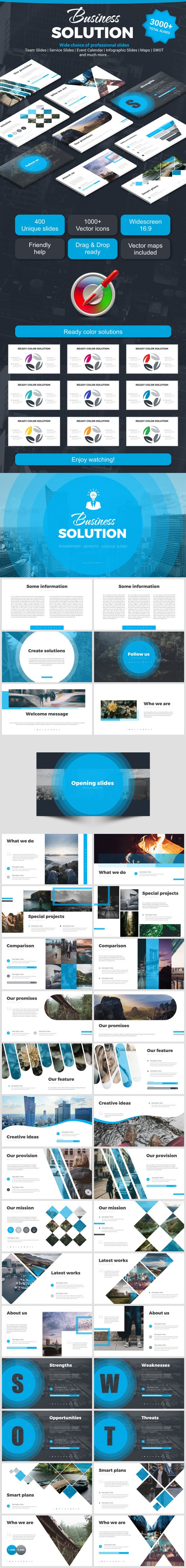 Business Solution - Business Keynote Templates