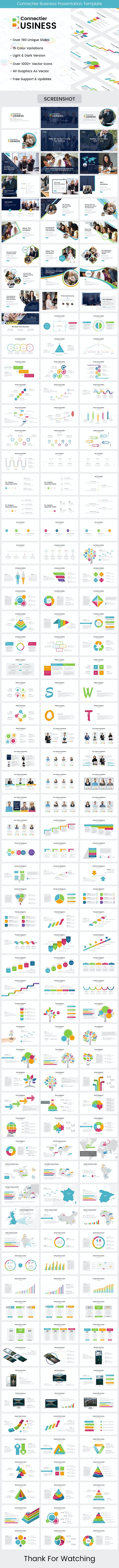 Connectier Business Keynote Template 2019 - Business Keynote Templates