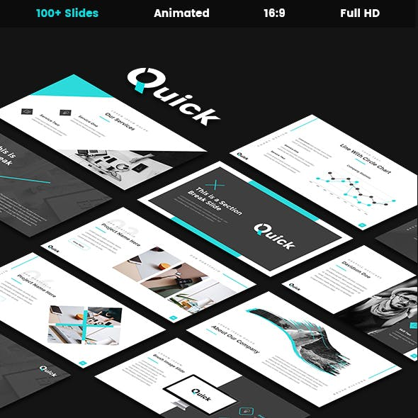 Quick - Creative Powerpoint Template