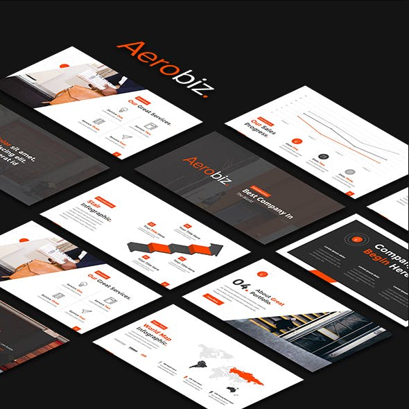Aerobiz - Professional Business Powerpoint Template