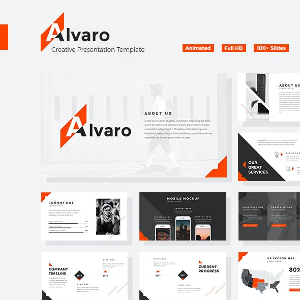 Alvaro - Creative Powerpoint Template