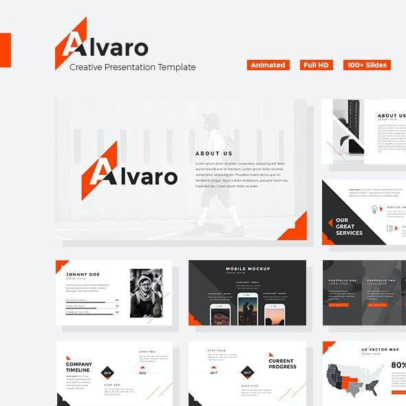 Alvaro - Creative Keynote Template