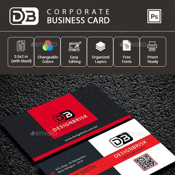 Corporate  Business Card - V3