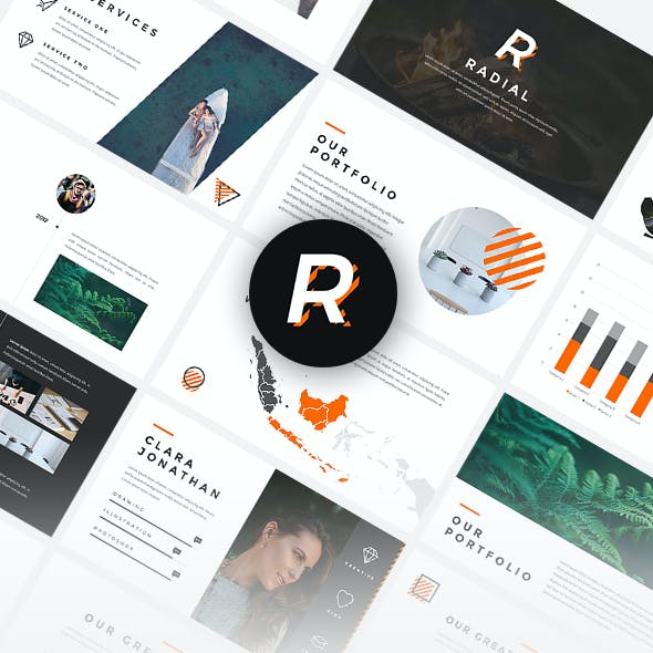 Radial - Creative PowerPoint Template
