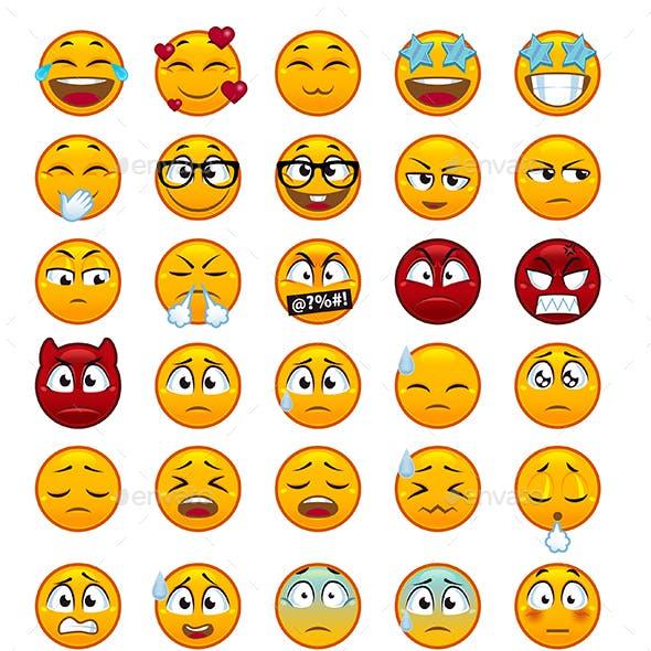 55 Emojis Pack 2