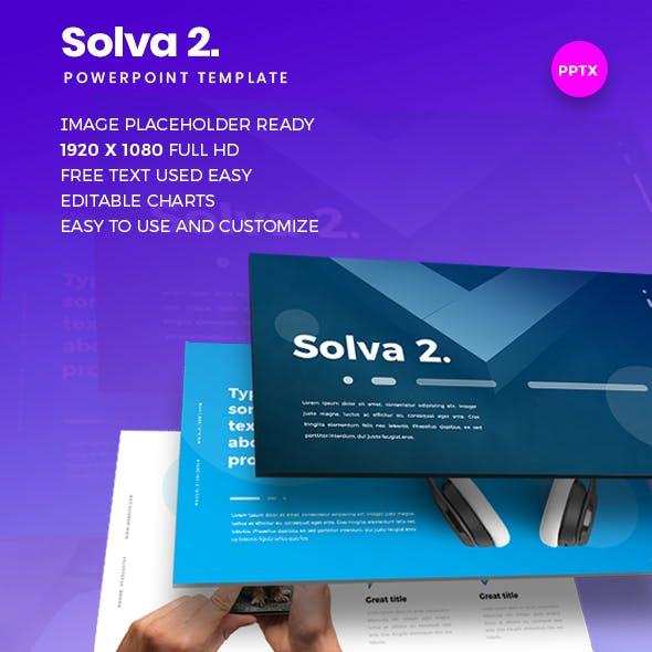 Solva 2 Powerpoint Presentation Template