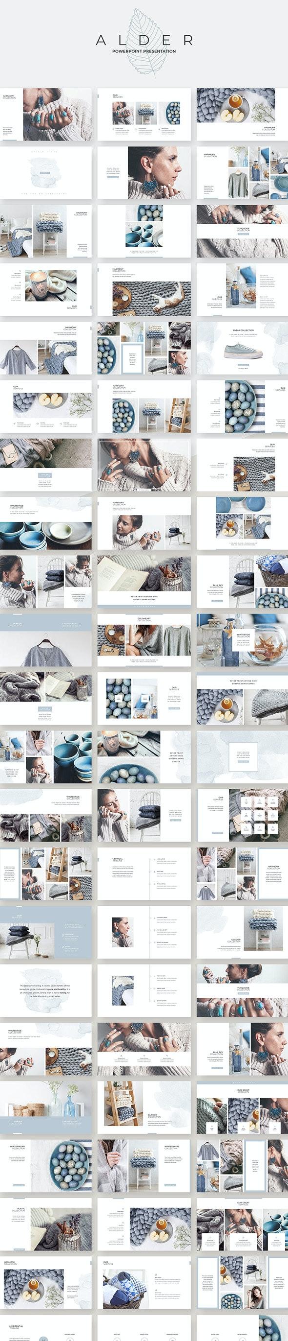 Alder PowerPoint Presentation - Creative PowerPoint Templates