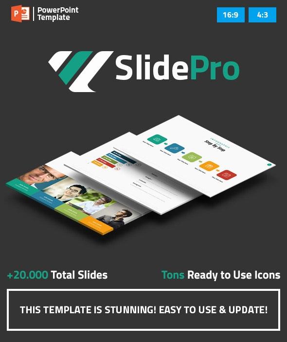 SlidePro - Marketing PowerPoint Presentation Template - Business PowerPoint Templates