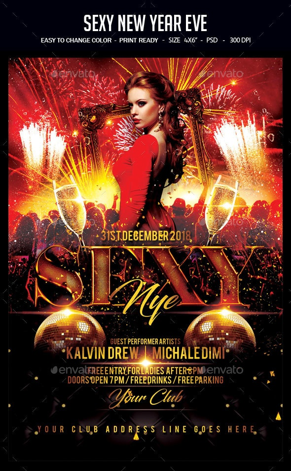 Sexy New Year Eve - Clubs & Parties Events