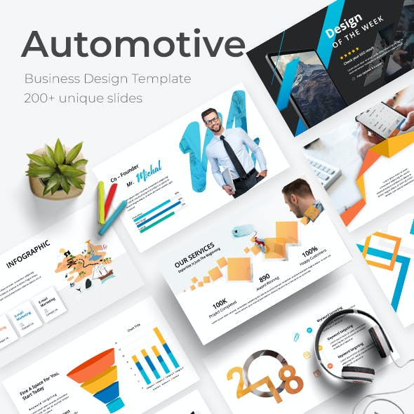 Automotive Business Google Slide Template