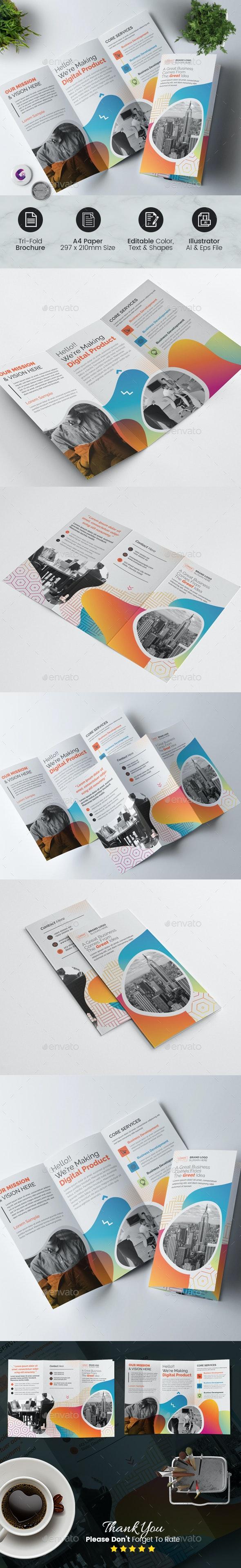 Multipurpose Tri Fold Brochure - Corporate Brochures