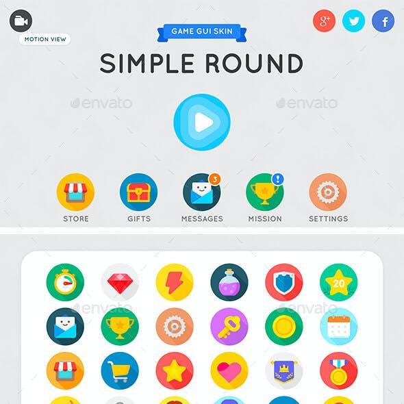 GUI Kit Simple Round