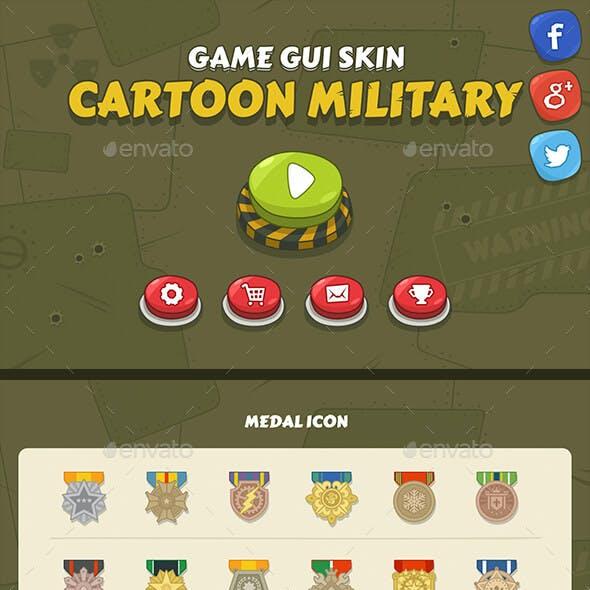 GUI Kit Cartoon Military