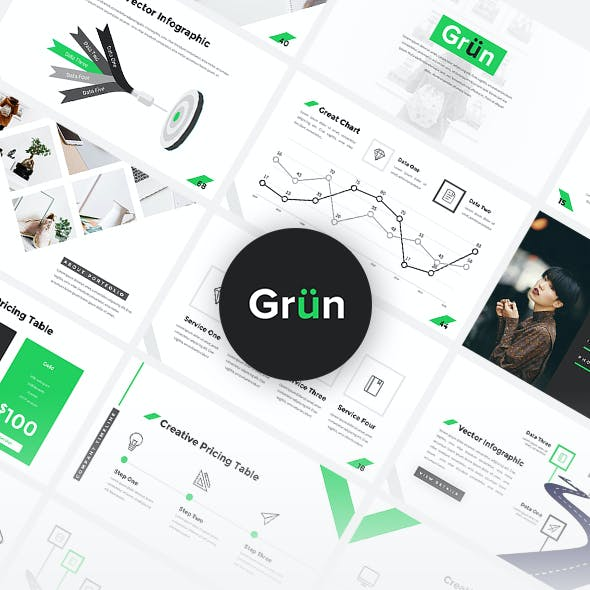 Grun - Business Google Slides Template