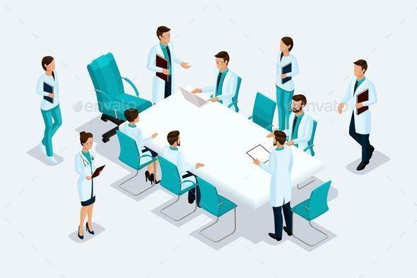 Isometrics Medicine - Health/Medicine Conceptual