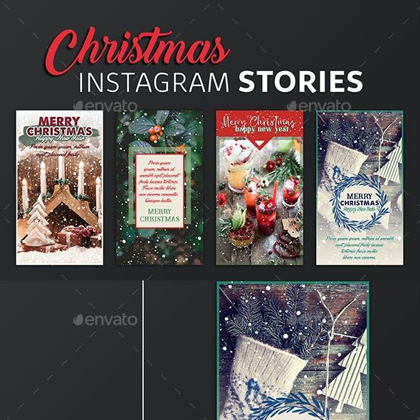 Christmas Instagram Story Templates