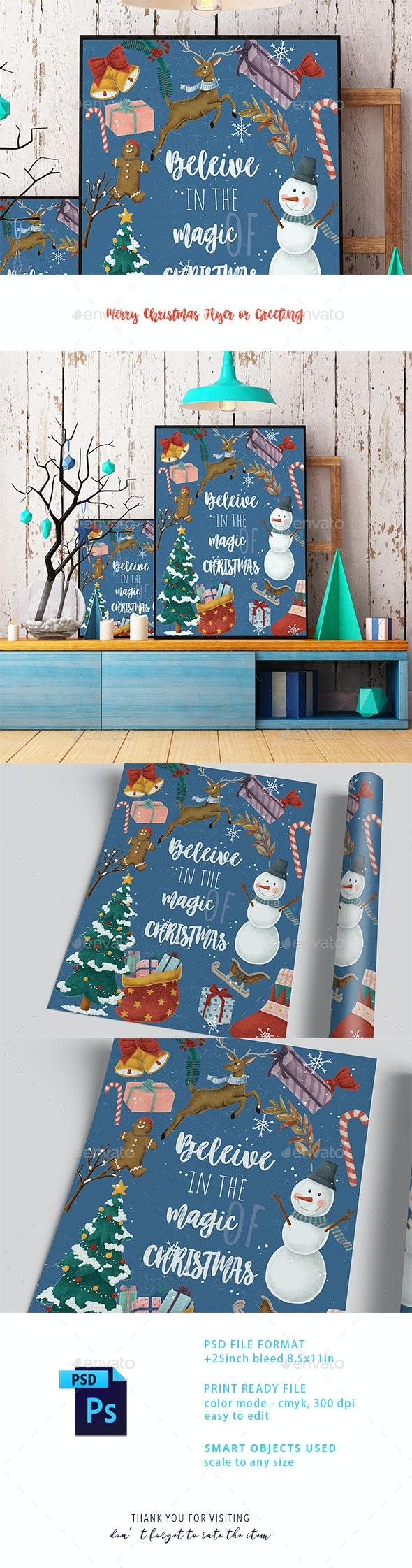 Christmas Invitation Card - Holidays Events