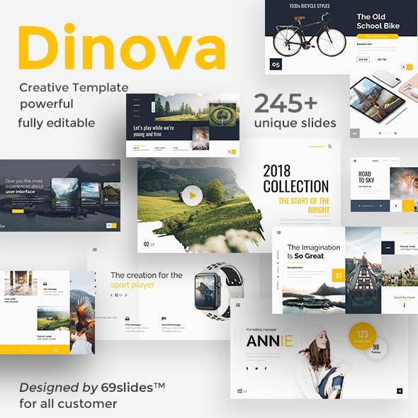 Dinova Premium Keynote Template