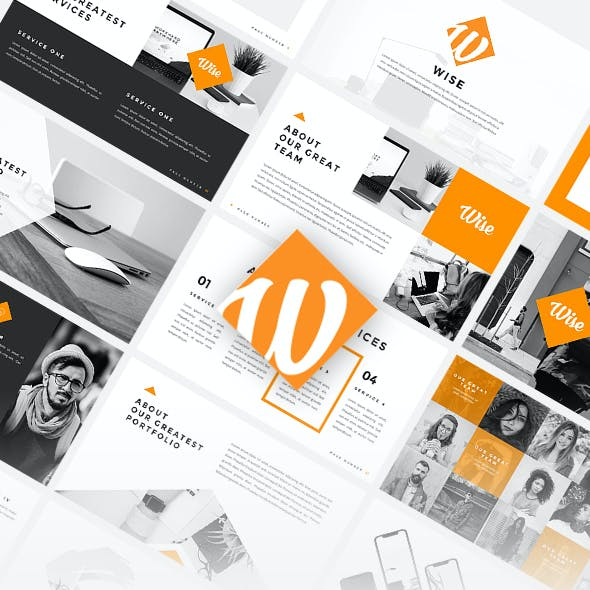 Wise - Creative PowerPoint Template
