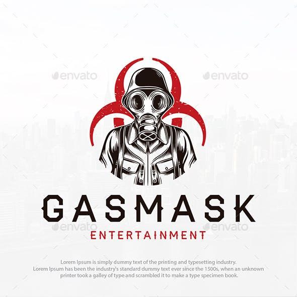 Gas Mask Soldier Logo