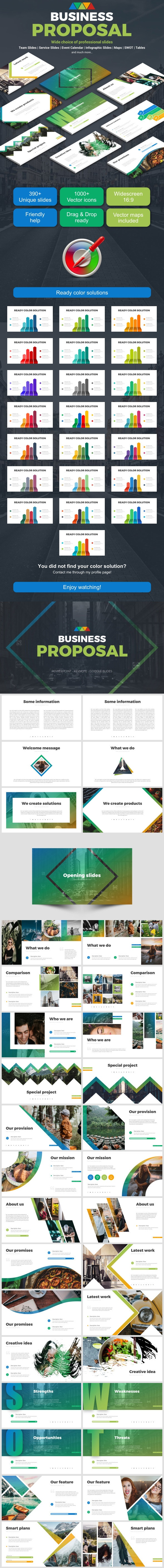 Business Proposal - Business PowerPoint Templates