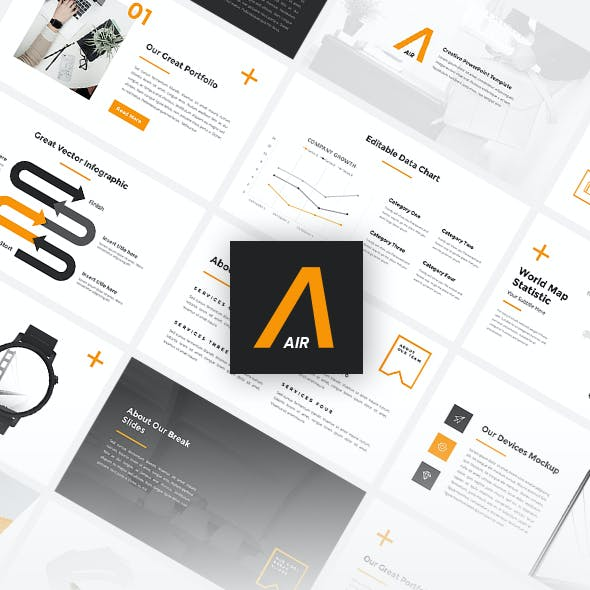 Air - Creative PowerPoint Template