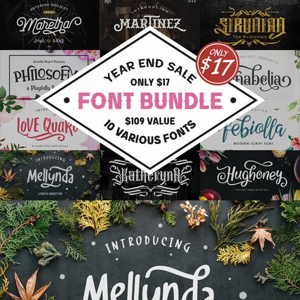Various Font Bundle