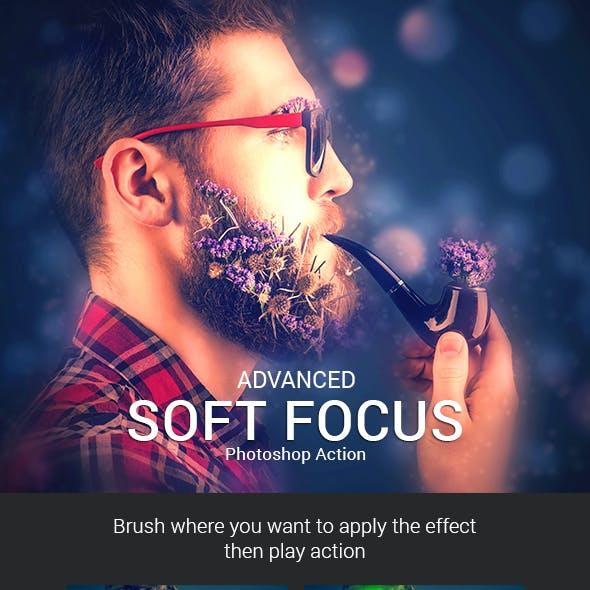 Advanced Soft Focus Photoshop Action
