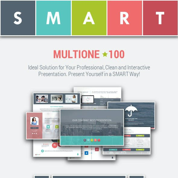 MULTIONE-100 – Multipurpose PowerPoint Template