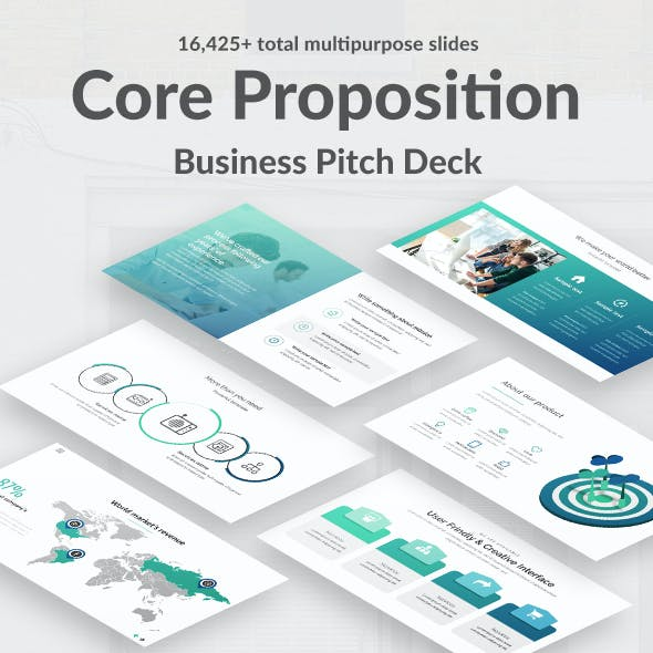 Value Proposition Pitch Deck Powerpoint Template