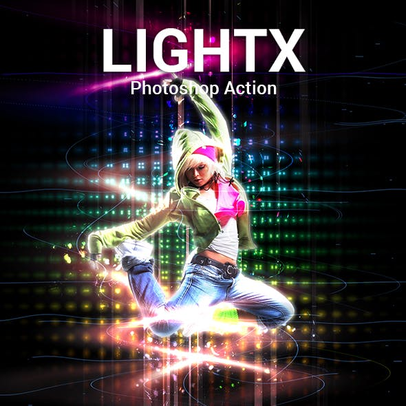 LightX Photoshop Action