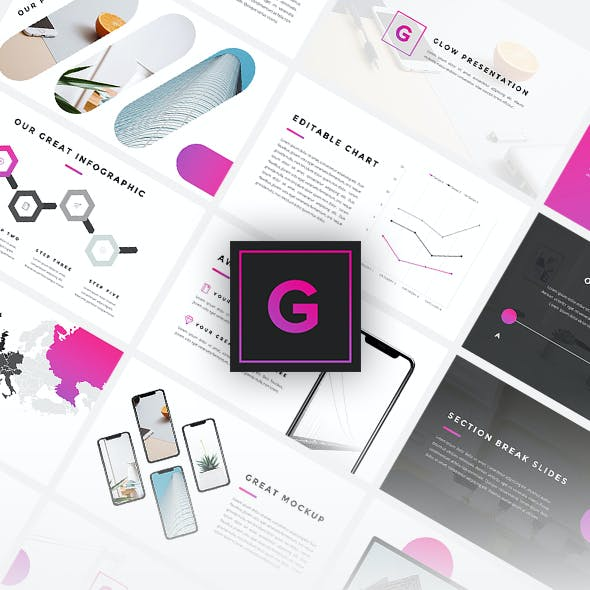 Glow - Business Google Slides Template