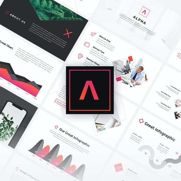 Alpha - Creative Google Slides Template