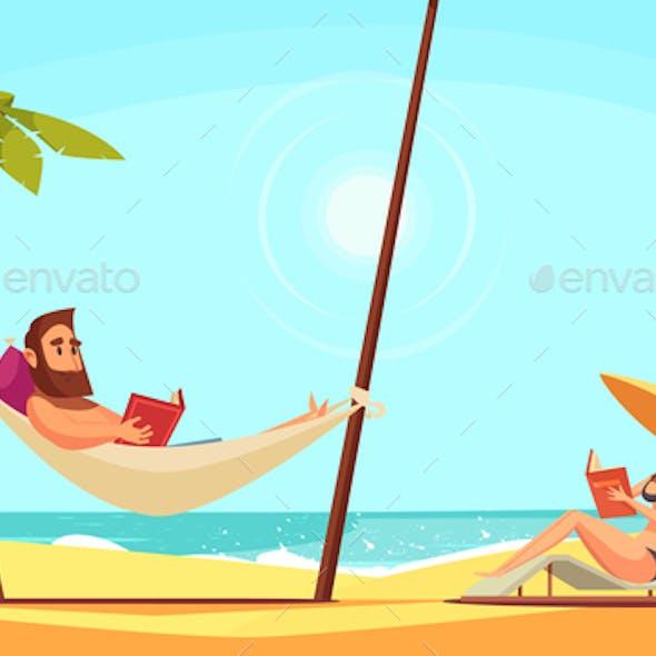 Beach Reading  Background