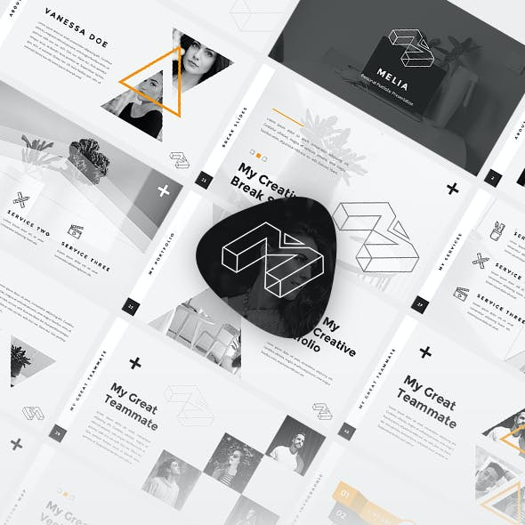 Melia - Personal Portfolio PowerPoint