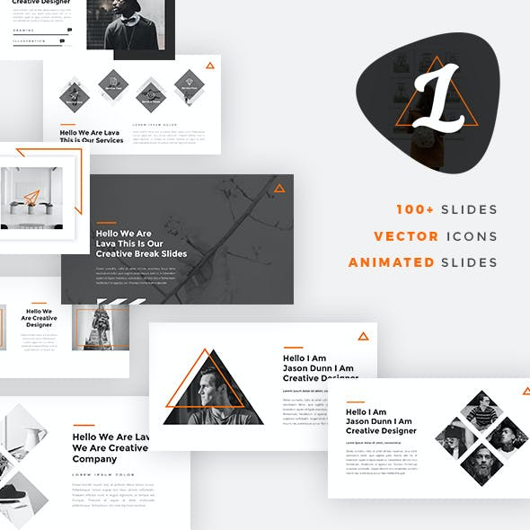 Lava - Creative PowerPoint Template