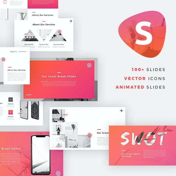 Startup Pitch Deck Graphics, Designs & Templates
