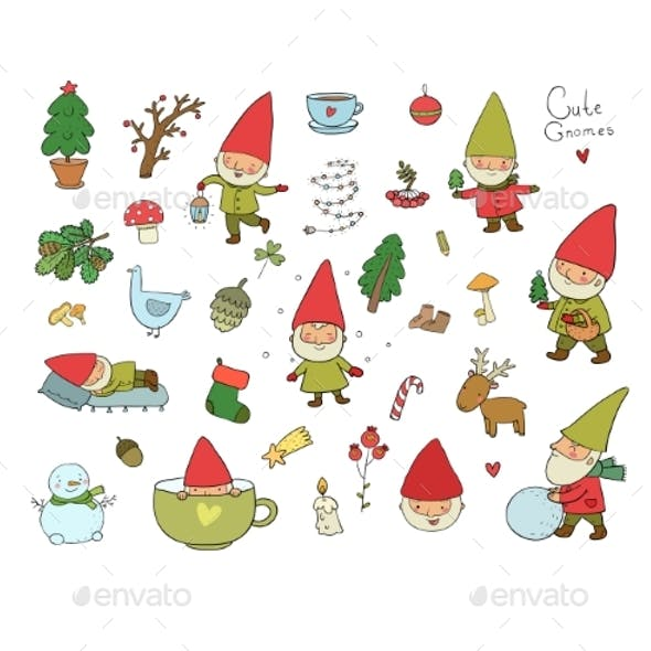 Cartoon Gnomes