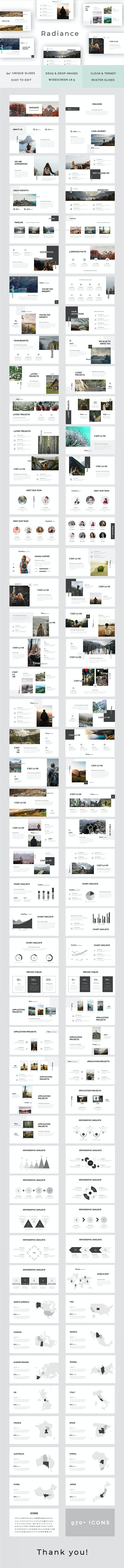 Radiance Powerpoint Template - PowerPoint Templates Presentation Templates