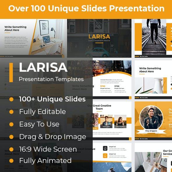 Larisa Creative PowerPoint