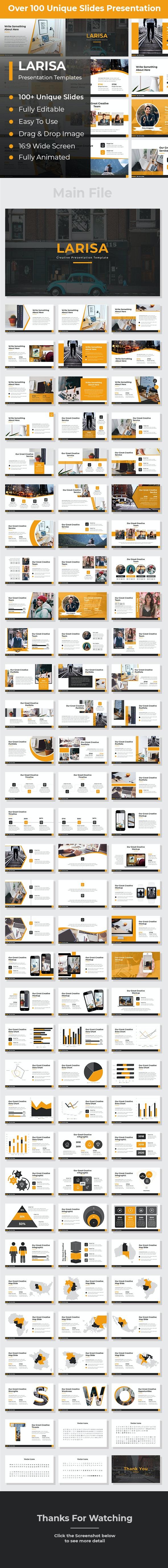 Larisa Creative PowerPoint - Creative PowerPoint Templates