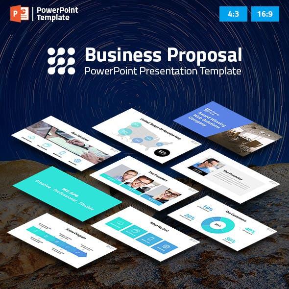 Business Proposal PPT Pitch Deck