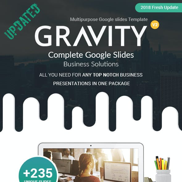 Gravity Google slides Presentation Template
