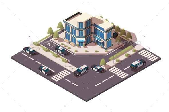 Police Station - Buildings Objects
