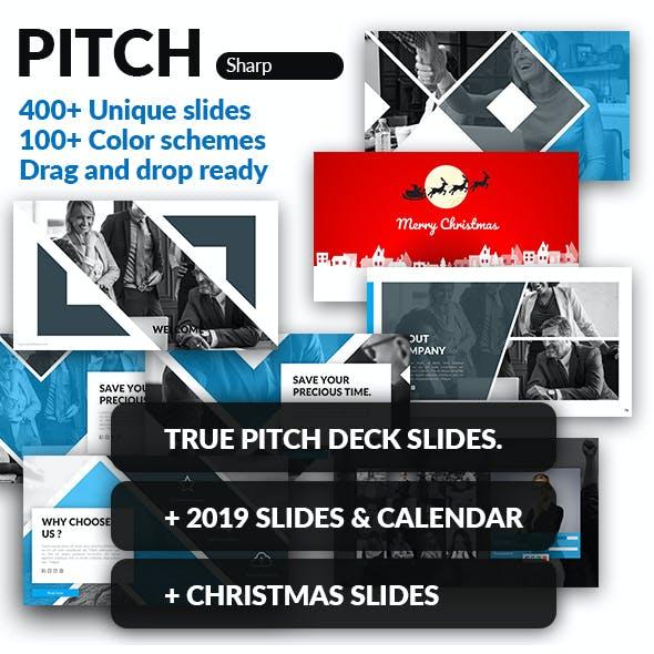 Sharp 2019 - Google Slides Pitch Deck