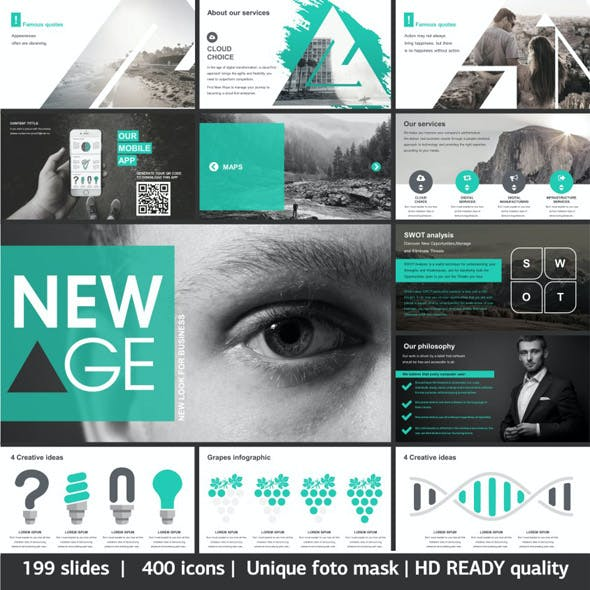 New Age Creative Powerpoint Template